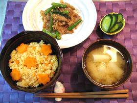 1日の野菜摂取量目安-夕食