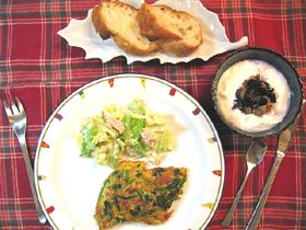 1日の野菜摂取量目安-朝食