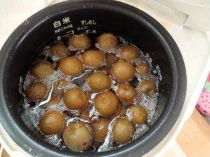 炊飯器梅シロップ2