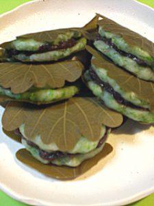 日本の食文化 柏餅