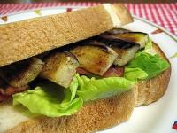 小金井野菜-なすのサンドイッチ