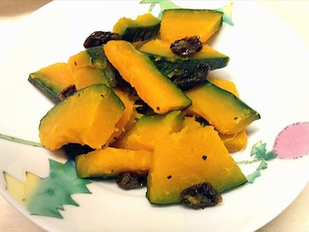 小金井野菜-かぼちゃのレーズンサラダ