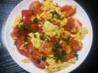 トマトと卵のササッと炒め