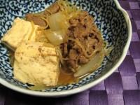 ショウガ肉豆腐
