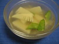 タケノコとザーサイのスープ